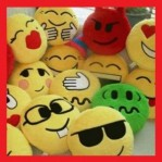 BANTAL EMO BONEKA EMOTION BLACKBERRY BB – 037