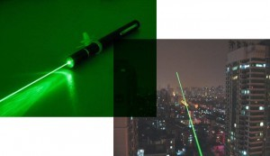 GREEN LASER POINTER RADIUS 1.5  – 2 KM – 012