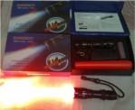 Senter Police Flashlight 1200 Lumens Watt + Cone Lalu Lintas – 018