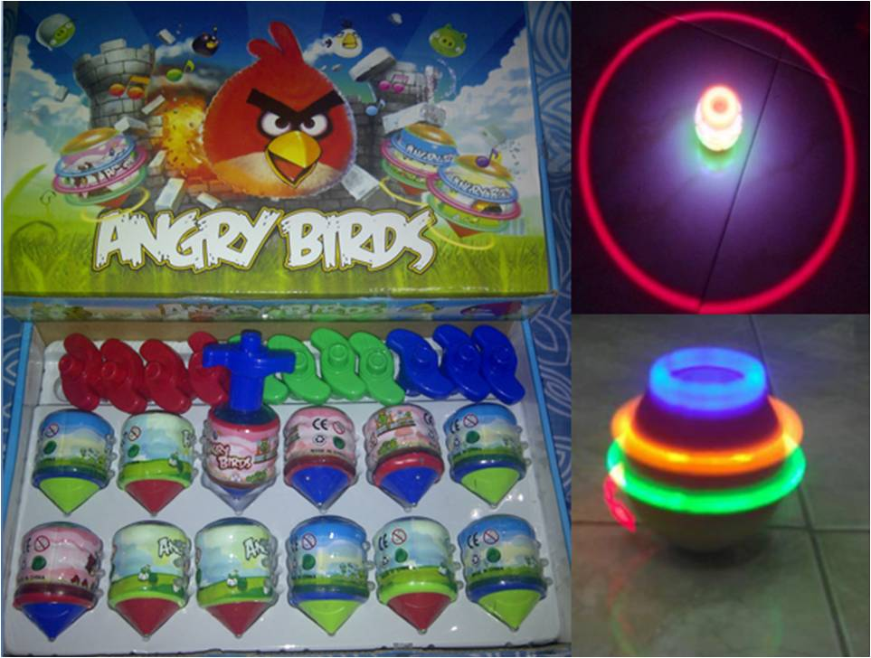 Gasing Angry Birds