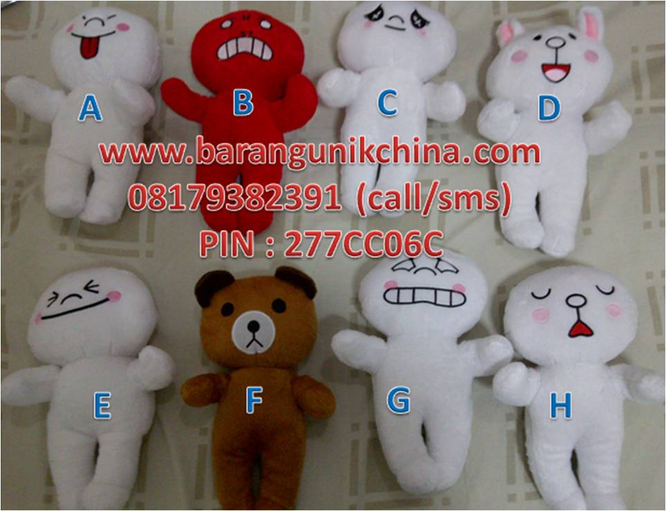 boneka line 30cm_08179382391