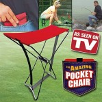 Pocket chair kursi lipat mancing piknik 047