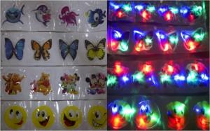 Sticker Lampu 4 Warna Unik 050