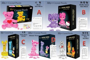 Puzzle 3D Crystal – 055