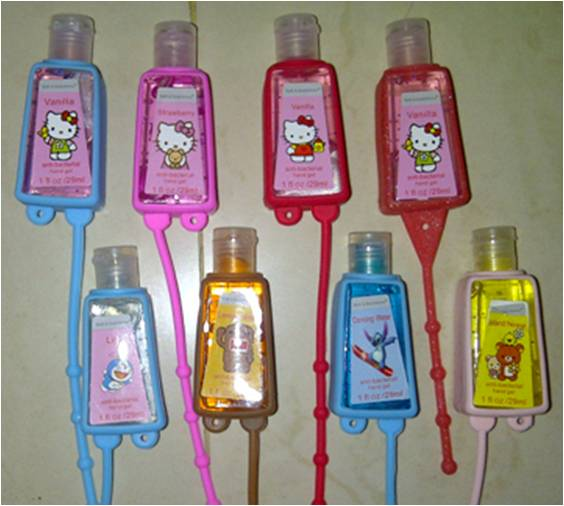Handgel Sanitizer Karakter