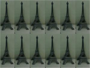 Pajangan Menara Eiffel Paris Steel – 084