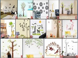 Wall Sticker 60 x 90 cm – 085
