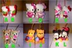 Handgel Boneka Hello Kity Pooh Rilakuma Mickey Minnie – 091