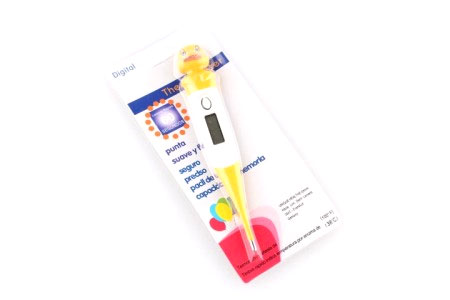 Thermometer digital kartun