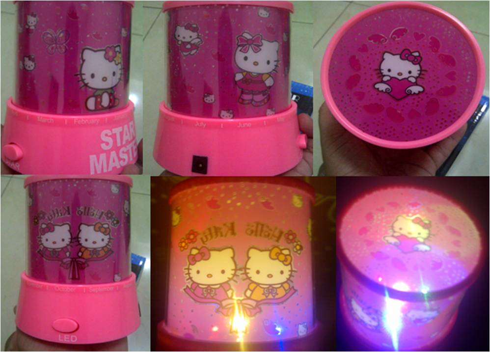 Lampu Proyekor HELLO KITY Full Colour - 136