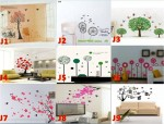 Wall Sticker 50 x 70 Transparan – 122