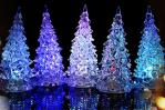 Lampu Pohon Natal Acrylic berubah 7 warna  – 156