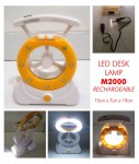 Lampu Emergency Lamp 3in1 Fan M2000 – 173