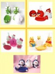 Bathroom Set Karakter Hello Kity Pooh Doraemon Angry Birds – 167