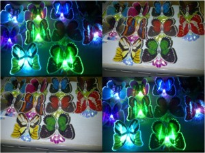 New Lampu Kupu LED dengan Bunga – 150