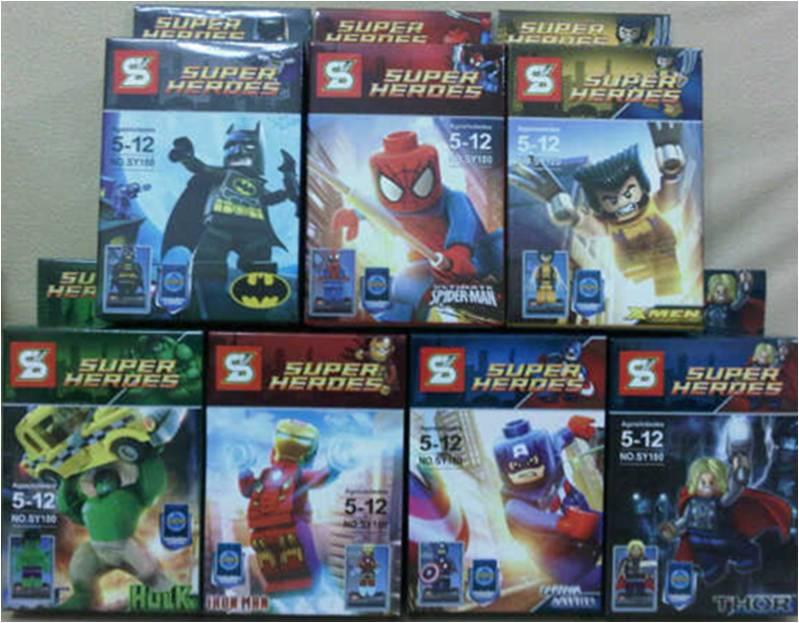 Mainan Lego Superhero Marvell Avengers - 164