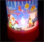 Lampu Proyektor Natal Merry Christmas Santa Klaus – 170