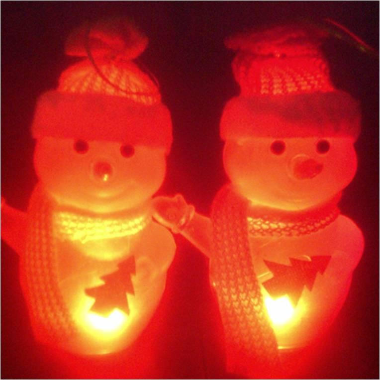 Lampu Natal Boneka Salju Snowman Chrstmas - 171