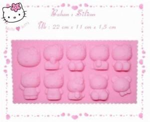 Cetakan puding es batu jelly Hello Kity Mickey Mouse mold – 185
