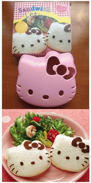 Cetakan Roti Sandwich Kity Mold Hello Kitty - 205