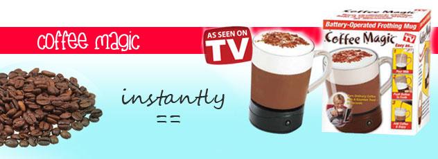 Coffee Magic Maker Pengaduk Kopi Otomatis - 190