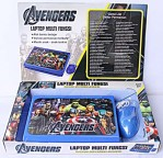 Laptop Hello Kity Avengers Mainan Edukasi Anak Multifungsi – 207