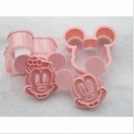 Cetakan Roti Cookies Mickey Minnie Mouse – 210