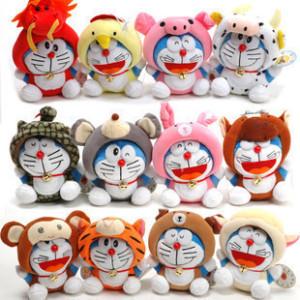 Boneka Rekam Doraemon Rilakuma Zodiac – 275