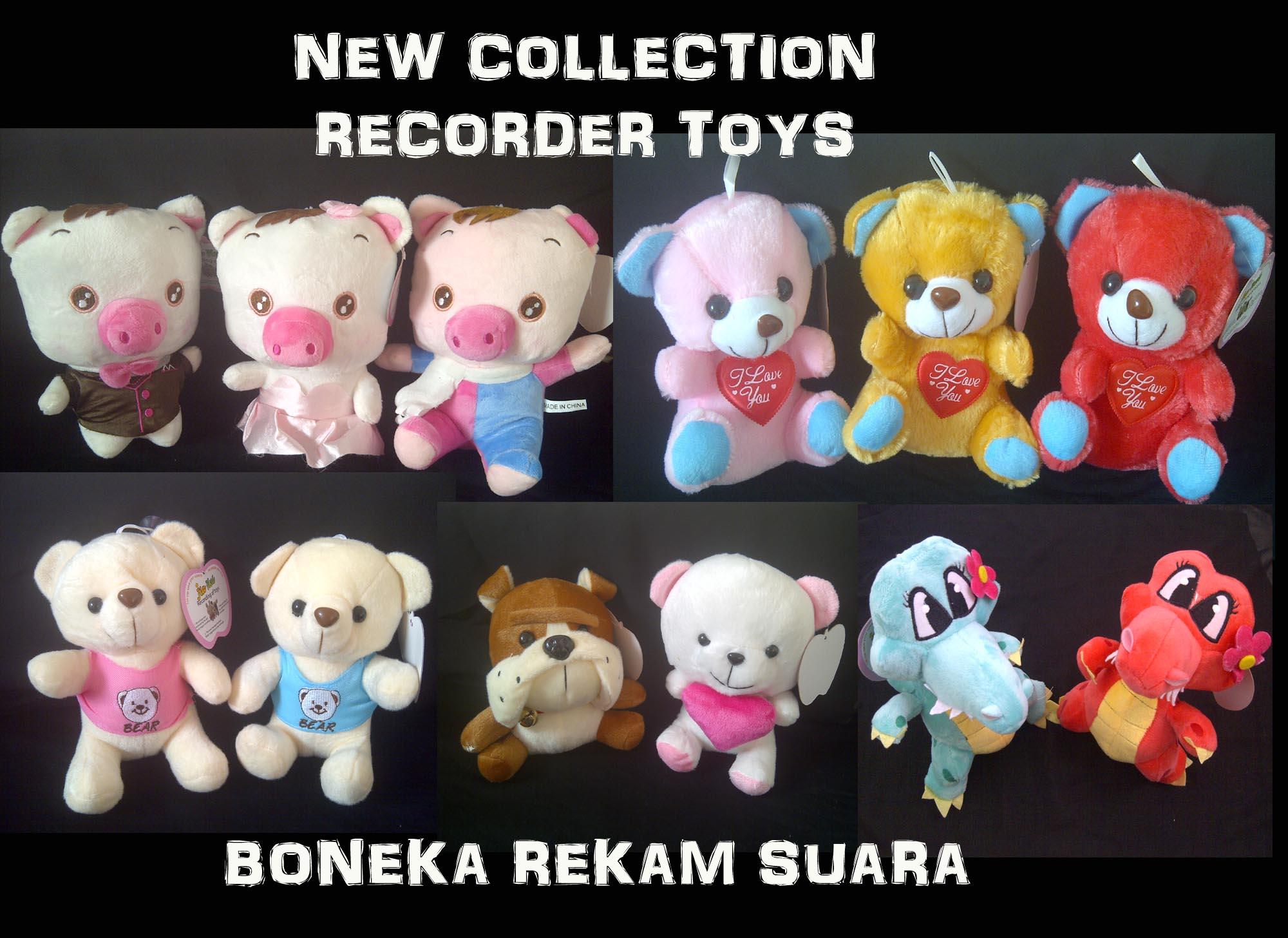 Boneka Rekam Suara New Character - 280