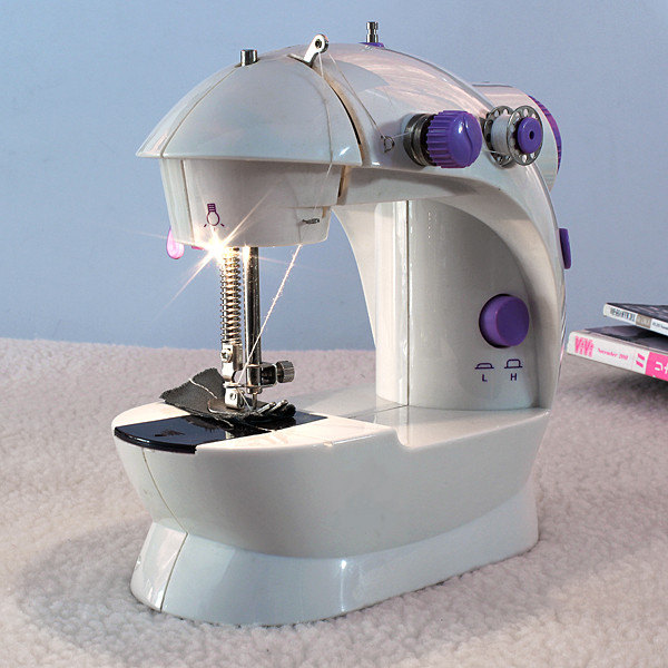 Mesin Jahit Mini Ada Lampu Sewing Machine GT/FHSM 202 - 283