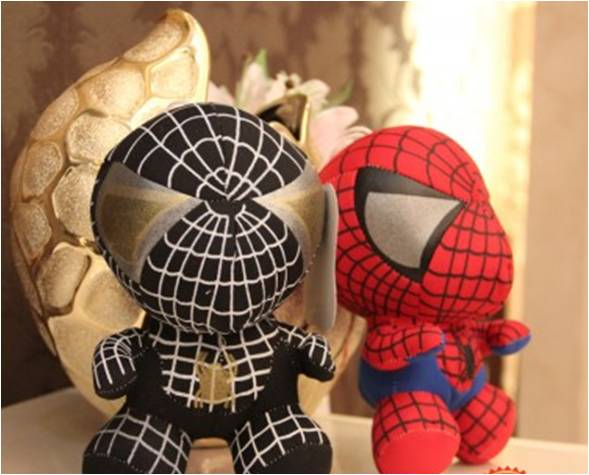 Boneka Rekam Spiderman One Piece Luffy - 268