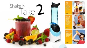 Shake N Take Sporty 2nd Shake and Take Sporty Smoothie Blender – 308