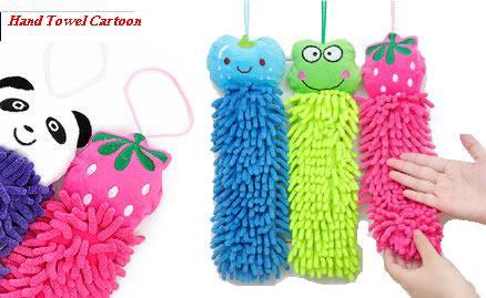 Hand Towel Microfiber Chenill Lap Microfiber Karakter Lucu - 311