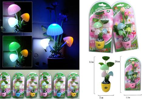 Lampu Tidur Jamur Mini Avatar Unik - 312