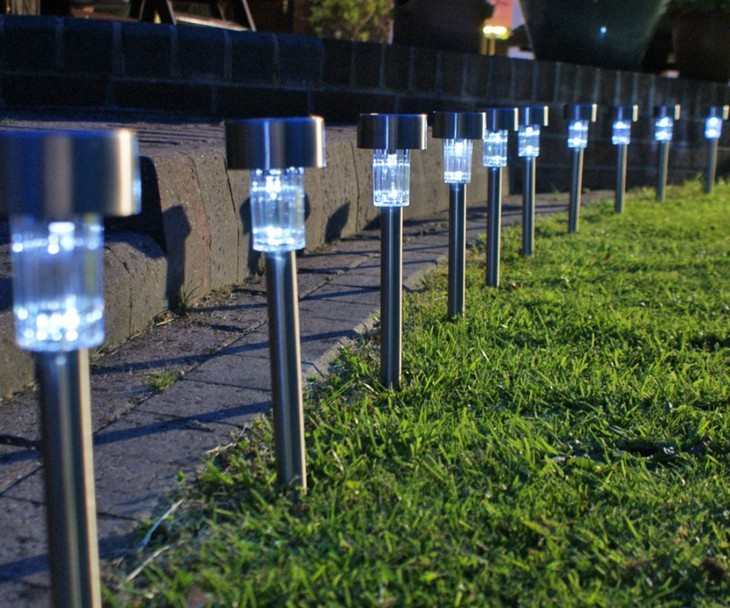 Lampu Taman Tenaga Matahari | Lampu Taman LV Tenaga Surya Otomatis Tanpa Listrik Tanpa Kabel - 302
