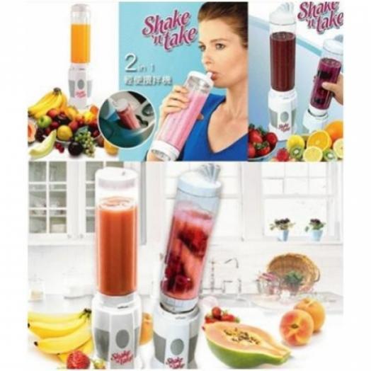Shake and Take Blend N Go Dengan 2 Gelas Juicer - 305