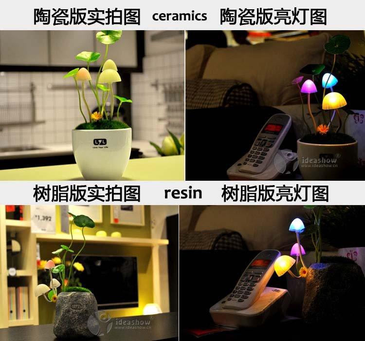 Lampu Avatar Besar Mushroomp LED Lamp - 329