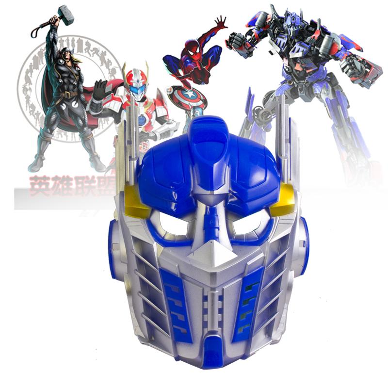 Topeng Transformers Optimus Prime Bumblebee - 323