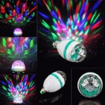 Lampu Disco Rotate Putar Full Colour – 333