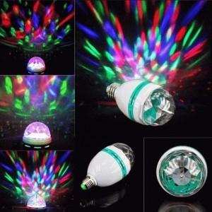 Lampu Disco Rotate Putar Full Colour – 333