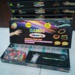 DIY Rainbow Loom Bands Colorful Gelang Karet – 319