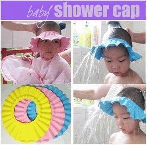 Topi Keramas Anak Pelindung Mata Pedih Saat Keramas Untuk Bayi - 338