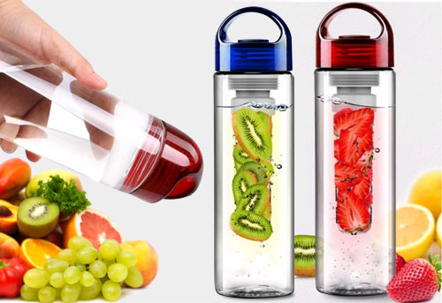 Tritan Bottle Infuser Fruit BPA Free - 341