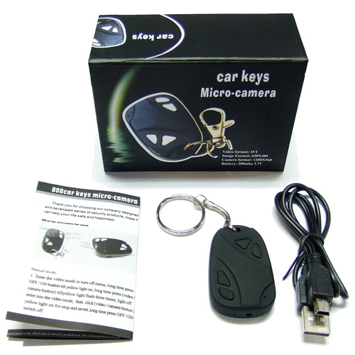 Spy Cam Key Chain Video Camera - 352