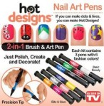 Hot Design Nail Art Basic Kit 6 Color As Seen on TV – 348