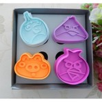 Cetakan Kue Angry Bird Cookies Mold – 355