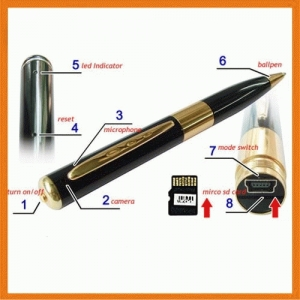 Pulpen Kamera Spy Cam Hidden Camera - 354