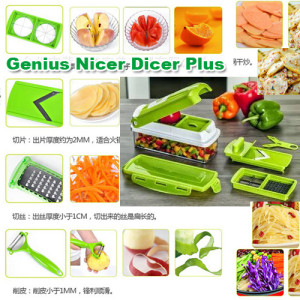 Nicer Dicer Plus Chopper Kitchen As Seen TV – 356