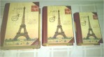 Safe Decorative Book Paris 1set isi 3 ukuran – 351