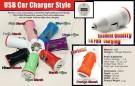 USB CAR CHARGER MOBIL Cas Baterai Untuk Di Mobil – 366